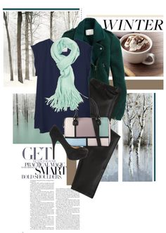 """Winter Look"" by sannebanana ❤ liked on Polyvore"