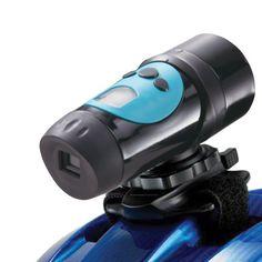 Generic HD Sport Action Helmet Video Camera 720P Waterproof Color Blue