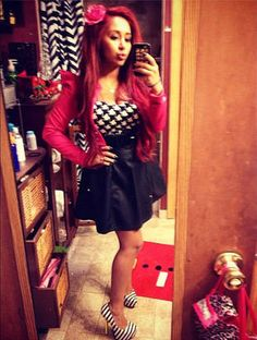 Snooki's Sexy Outfit ---> follow stephany medina ( and check out my new board !:D all about bows <3 thanx )