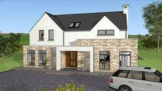 Apartments : house designs for ireland house plans and design modern irish story type mod exterior House Plans 2 Storey, 2 Storey House Design, House Extension Ireland, Tree House Accommodation, Bungalow, House Designs Ireland, Ants In House, Dublin House, House Cladding