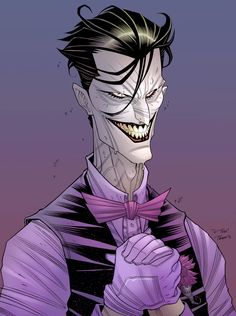 Joker by Tradd Moore (pencils) and Thonie Wilson (colors)