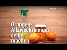 Allzweckreiniger mit Zitrus-Schalen selber machen
