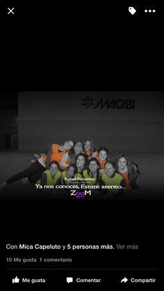 """""""Futbol Femenino"""" Diseño y publicación de flyers dirigidos a jovenes para el Club O.H.A Macabi"""