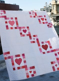 Love in Chains *free pattern* by Dear Stella Design | Project | Quilting / Quilts | Kollabora