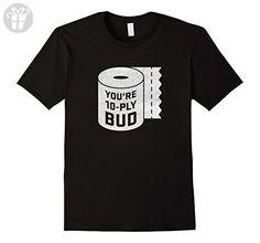 Mens You're 10-Ply Bud Funny Letterkenny Hockey T-Shirt 3XL Black - Funny shirts (*Amazon Partner-Link)