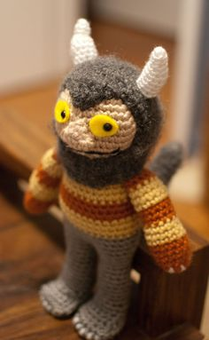 Hey, I found this really awesome Etsy listing at https://www.etsy.com/listing/174783497/carol-where-the-wild-things-are