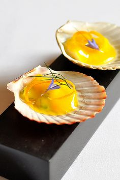 Eleven Madison Park - New York City Ceviche, Tapas, Molecular Gastronomy, Culinary Arts, Restaurant Recipes, Food Presentation, Food Design, Food Plating, I Love Food