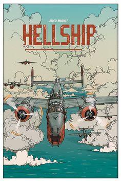 """""""Hellship"""" by Jared Muralt on Behance"""