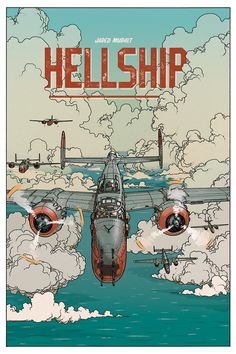"""Hellship"" by Jared Muralt on Behance"