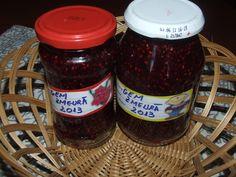 Gem de zmeura Pickling, Preserves, Salsa, Deserts, Homemade, Canning, Drinks, Food, Marmalade
