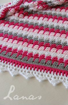 Afghans Crochet Patterns Larksfoot Crochet Blanket Pattern Crochet Projects Crochet Knitting For BeginnersKnitting For KidsCrochet Hair StylesCrochet Baby Motifs Afghans, Afghan Crochet Patterns, Crochet Stitches, Knitting Patterns, Baby Afghans, Baby Patterns, Crochet Simple, Free Crochet, Knit Crochet