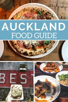 Auckland is a huge place with endless dining options! So to make things a little easier, here is my guide on what to eat while in the City of Sails! New Zealand Food, New Zealand North, Auckland New Zealand, Brisbane, Sydney, Honeymoon In New Zealand, New Zealand Travel Guide, Best Places To Eat, Amazing Places