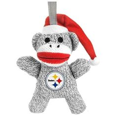 New Orleans Saints NFL Football 2013 Sock Monkey Stuffed Christmas Ornament  Forever Collectibles 220373d88
