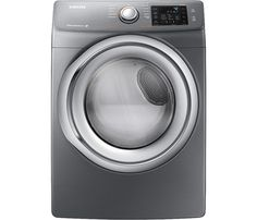 Samsung 7.5 cu. ft. Front Load Gas Dryer - Platinum - FREE Shipping via Curb Side Delivery. New in Box Item #platinum #dryer #load #front #samsung