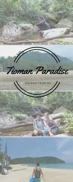Tioman, a small Malaysian island with a lot to offer. Check the post for more