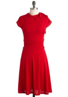 Dance Floor Date Dress in Scarlet - in search for the perfect red dress. 2c7a9244201c0
