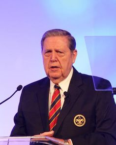 Elder Jeffrey R. Holland of the Church of Jesus Christ of Latter-Day Saints gave an inspiring keynote speech at the 2016 Duty to God Breakfast. Shiga, A Way Of Life, Cub Scouts, Keynote, The Voice, God, Carne, Scouting, Brazil