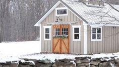 Storage Shed Plans Product Outdoor Storage Sheds, Outdoor Sheds, Shed Storage, Shed Colours, House Colors, Cedar Hill Farmhouse, Farmhouse Sheds, Backyard Sheds, Garden Sheds