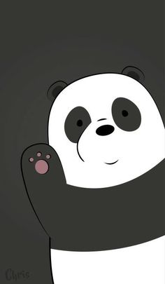 Best of We Bare Bears Wallpaper - Get super charming and attractive ideas related of We Bare Bears Cartoon Images on ThePhotocrafters. You'll find a spectacular selection of HD wallpapers and backgrounds. Cute Panda Wallpaper, Bear Wallpaper, Cute Wallpaper Backgrounds, Wallpaper Iphone Cute, Galaxy Wallpaper, Disney Wallpaper, White Wallpaper, Wallpaper Wallpapers, Hello Wallpaper