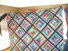 string quilts | String Quilt by Karmie | Quilting Ideas