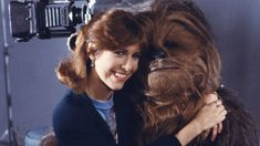 Carrie Fisher & Chewy (Peter Mayhew) ♥️
