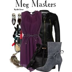 Designer Clothes, Shoes & Bags for Women Supernatural Fashion, Supernatural Cosplay, Casual Outfits, Cute Outfits, Character Inspired Outfits, Fandom Fashion, Casual Cosplay, Themed Outfits, Professional Attire