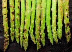 Super easy and amazingly delicious grilled asparagus recipe for the George Foreman Grill.