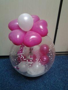 Kado in ballon bloem