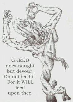 """Greed Is Never Satisfied. - Isaiah 56:11, """"Yea, they are greedy dogs which can never have enough, and they are shepherds that cannot understand: they all look to their own way, every one for his gain, from his quarter."""" Author Quotes, Literary Quotes, Quotable Quotes, Inspirational Quotes About Friendship, Friendship Quotes, Scripture Quotes, Bible Verses, Scriptures, 1st Timothy 3"""