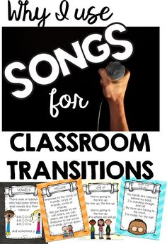 I sing in my first grade classroom all the time; for transitions, directions…