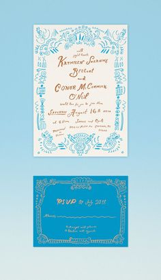 Danielle Kroll - Wedding Invite