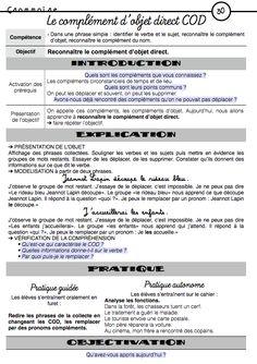 Cycle 3 : Des synthèses Picot explicites !