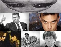 Famous People who claim to have Seen UFOs