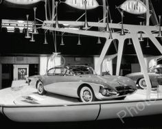 Buick Centurion Auto Show Display1956 Vintage 8x10 Reprint Of Old Photo
