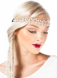 Layered Daisies 'N Chains Headband