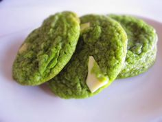 Yum! Green Tea MATCHA Cookie!