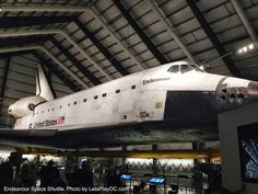 Endeavour Space Shuttle at California Science Center