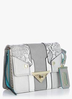 Grey Sling Bag @ INR-4400/- #betseyjohnson #jabong