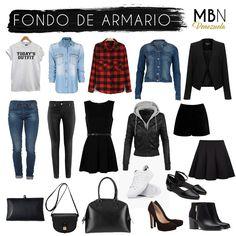 Fondo de Armario ¿Cuáles son las prendas básicas que debes tener que ayudarán a armar tu outfit? | Mi Blog de Notas Venezuela