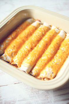 Easy Cheesy Burritos
