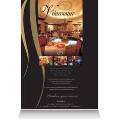 Villamoura:  Brand positioning print advertisement.