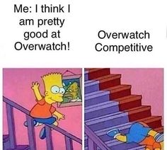 Literally me trying to get out of silver...