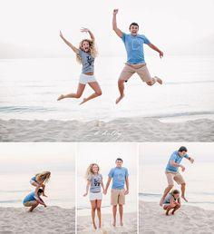 beachy engagement session fun!  |  california  |  michigan  |  k.holly