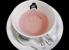 Naked Girls Tea Set by Esther Horchner