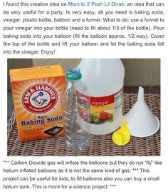 Baking Soda & Vinager