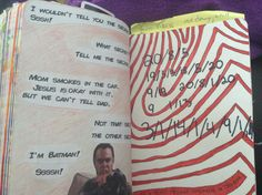 Wreck this Journal  Hide a secret message somewhere in this book I've hidden a scret on every page! The Big Bang Theory