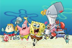 Put your knowledge of Spongebob Squarepants to the test with this interactive and fun trivia quiz. Spongebob Tattoo, Cartoon Familie, Wallpaper Spongebob, Underwater Theme, Pineapple Under The Sea, Animation, Spongebob Squarepants, Funny Kids, Cartoon Characters