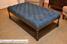 Awesome Ottomans - 10 DIY Projects