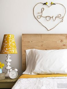 Turn Rope and Braided Fibers into Creative Decor Who knew hardware store materials had so much decorating potential? These five clever projects turn twine, polypropylene, and other braided fibers into pretty home accents. Diy Wand, Rustic Walls, Rustic Wall Decor, Rope Decor, Valentines Day Decorations, Homemade Valentines, Heart Decorations, Decorating Your Home, Diy Home Decor