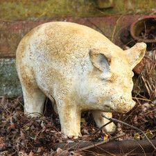 Animals Pig-Standing Statue